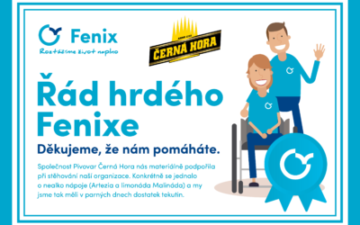 Podporujeme Para Centrum Fenix
