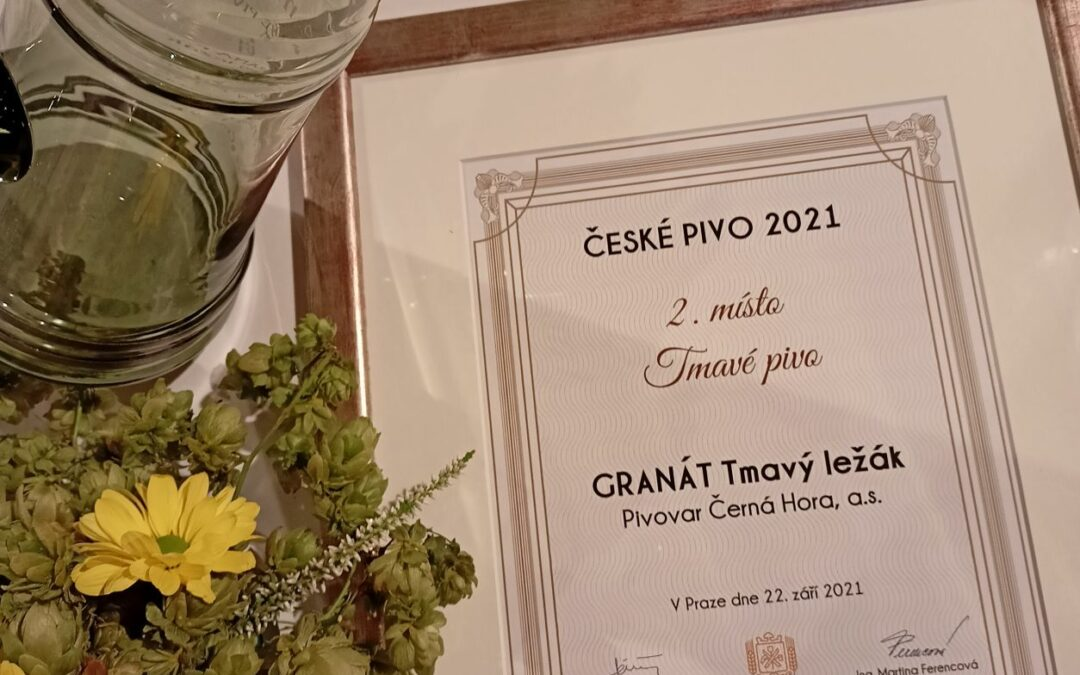Úspěch a ocenění České pivo 2021